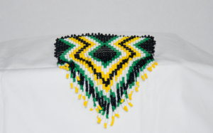 Susan Hill, Hill's Creations, beadwork, jewelry, leatherwork, regalia, Indigenous Artist, First Nations, Indigenous Arts Collective of Canada, Pass The Feather