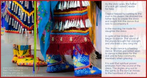 jingledress, pass the feather, first nations art directory,
