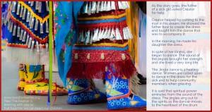 jingledress, pass the feather, first nations art directory,