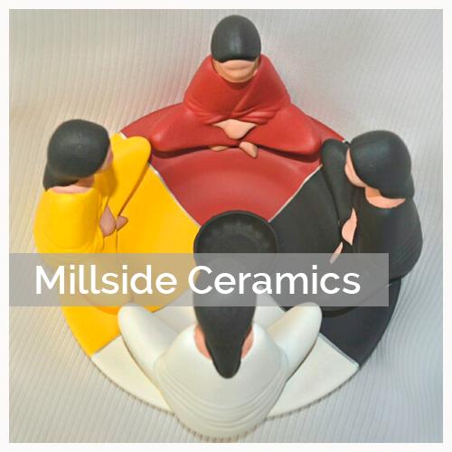 Millside Ceramics, Pass The Feather