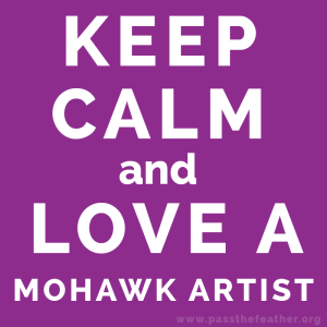 mohawkARTIST, pass the feather, first nations art directory, aboriginal arts collective of canada, classroom art exchange,