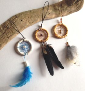 Tanya Keech, Homespun Naturals by Tanya, dreamcatchers, jewelry, workshops, Indigenous Artist, First Nations, Indigenous Arts Collective of Canada, Pass The Feather