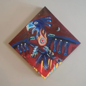 Eric C. Keast, beadwork, jewelry, painting, sculpting, Indigenous Artist, First Nations, Indigenous Arts Collective of Canada, Pass The Feather