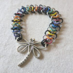 dragonflybracelet, mikana, pass the feather, native art, first nations artist