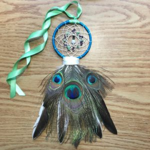 Kelsie Young, dreamcatchers, Indigenous Artist, First Nations, Indigenous Arts Collective of Canada, Pass The Feather