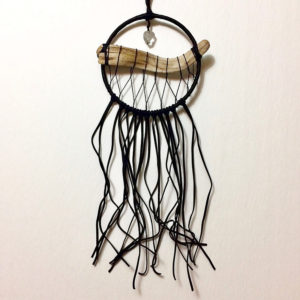 Kelsey Young, dream catcher art, artist, feathers, pass the feather, aboriginal arts collective of canada
