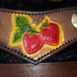 Mitchell Riley, leatherwork, Indigenous Artist, First Nations, Indigenous Arts Collective of Canada, Pass The Feather