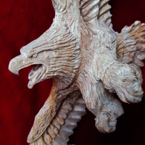 Nish Nabie, carver, carving, sculpting, Indigenous Artist, First Nations, Indigenous Arts Collective of Canada, Pass The Feather