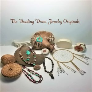 the beading drum jewelry originals, moccasins, gloves, beading, beading drum, jewelry, aboriginal arts and collective