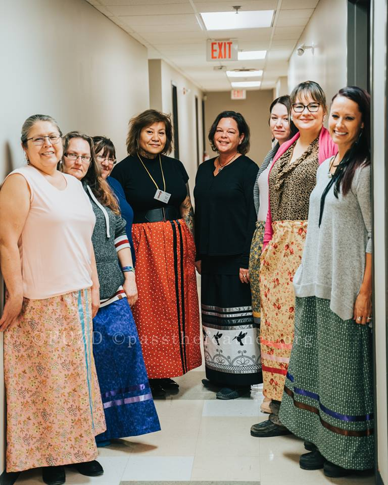 Indigenous Arts Conference, Willis College, Aboriginal Arts Collective of Canada, vendors, ribbon skirt workshop, frankie pasap
