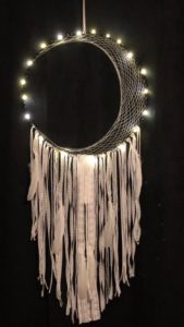 Amanda Crocker, Daydreamer Designs, Indigenous artist, jewellery, dreamcatcher, art, workshop, first nations, indigenous arts collective of canada, pass the feather, indigenous art, aboriginal art, indigenous art directory