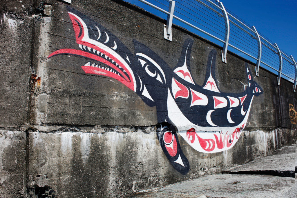 Jesse Campbell, mural and visual arts, multidisciplinary, murals, visual art, Indigenous artist, first nations, indigenous arts collective of canada, pass the feather, indigenous art, aboriginal art, indigenous art directory