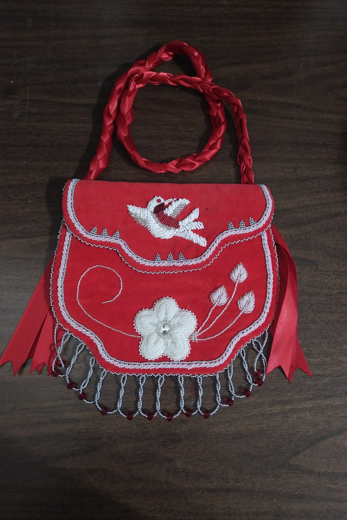 Marlana Thompson, aboriginal arts collective of canada, pass the feather, beadwork, regalia