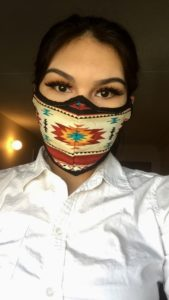 Bethany Maytwayashing, COVID-19 mask, pass the feather, call for submissions, indigenous arts collective of canada