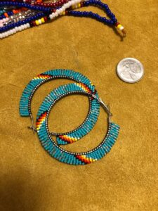Shannon Souray, beader, beadwork, jewelry, quillwork, quills, Indigenous Artist, First Nations, Indigenous Arts Collective of Canada, Pass The Feather