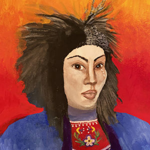 Arachne Kelly, drawing, painting, painter, workshops, facilitator, Indigenous Artist, First Nations, Indigenous Arts Collective of Canada, Pass The Feather