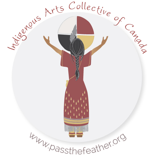 IAAC logo, Indigenous Arts Conference, Willis College, vendors, Indigenous Artists, First Nations, Indigenous Arts Collective of Canada, Pass The Feather, Native Art, Native American Art, Indigenous Art