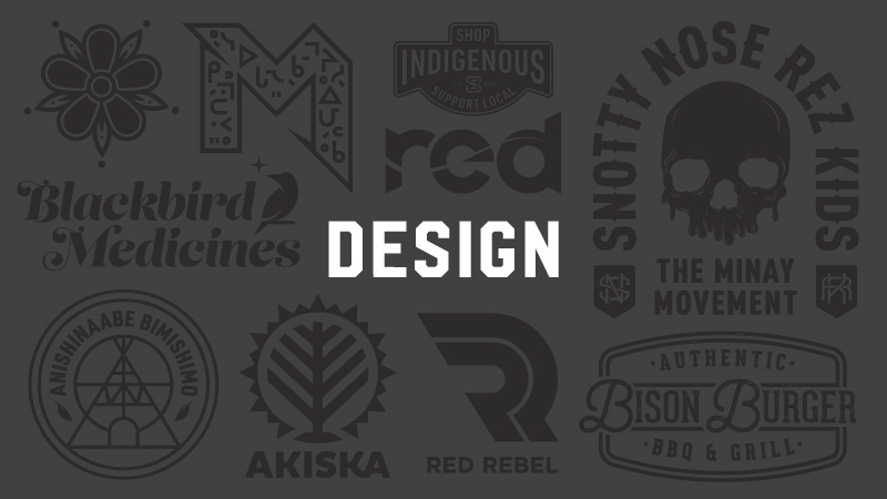 Joshua Hunt, Three Design Company, Marketing, advertising, graphic design, Indigenous Design, First Nations, Indigenous Arts Collective of Canada, Pass The Feather