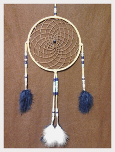 Tanya Powless, dreamcatchers, crafts, feathers, Indigenous Artist, First Nations, Indigenous Arts Collective of Canada, Pass The Feather