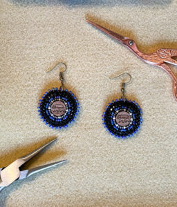 Jamaica Cass, Beadwork, tufting, crafts, jewelry, Indigenous Artist, First Nations, Indigenous Arts Collective of Canada, Pass The Feather