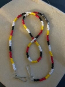 Cindy Lisk, beadwork, beading, jewelry, Indigenous Artist, First Nations, Indigenous Arts Collective of Canada, Pass The Feather