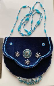 Joann Swamp, leatherwork, moccasins, beadwork, jewlery, crafts, Indigenous Artist, First Nations, Indigenous Arts Collective of Canada, Pass The Feather