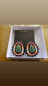 Riannon Tsosie, beadwork, jewelry, sewing, Indigenous Artist, First Nations, Indigenous Arts Collective of Canada, Pass The Feather