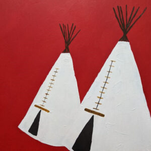 Darbi Hawley, Acrylic paint, dream catchers, Jewelry, Indigenous Artist, First Nations, Indigenous Arts Collective of Canada, Pass The Feather