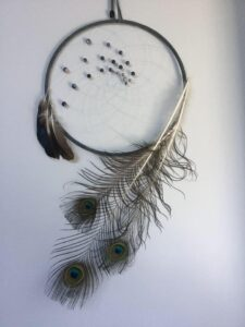 Candace Whitney, beadwork, jewelry, feathers, crafts, dreamcatchers, Indigenous Artist, First Nations, Indigenous Arts Collective of Canada, Pass The Feather