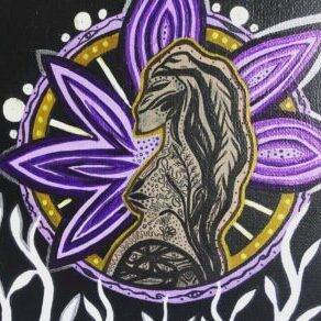 Stephanie Babij, painter, painting, drawing, Indigenous Artist, First Nations, Indigenous Arts Collective of Canada, Pass The Feather