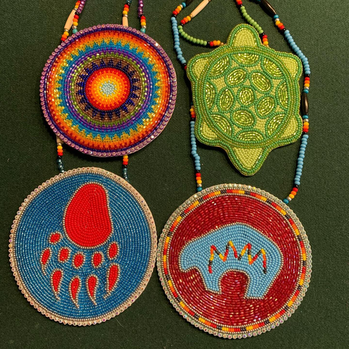 Amy Willier, beader, beadwork, fish scale, jewelry, leatherwork, quillwork, tufting, workshops, Indigenous Artist, First Nations, Indigenous Arts Collective of Canada, Pass The Feather