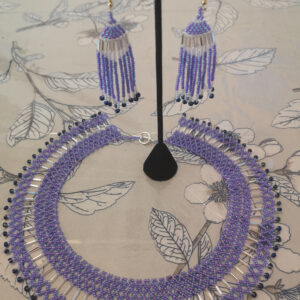 Tara Arnatsiaq-Barnes, Beading, beadwork, sealskin, face mask, painting, apparel, Indigenous Artist, First Nations, Indigenous Arts Collective of Canada, Pass The Feather
