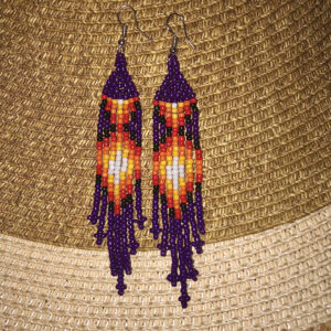 Shyanne Marie, Bead work, jewelry, Indigenous Artist, First Nations, Indigenous Arts Collective of Canada, Pass The Feather