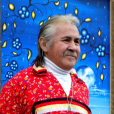William Monague, painter, painting, workshops, Indigenous Artist, First Nations, Indigenous Arts Collective of Canada, Pass The Feather