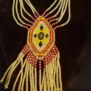 Kathleen Shabanian Azad, beadwork, dreamcatchers, jewelry, crafts, Indigenous Artist, First Nations, Indigenous Arts Collective of Canada, Pass The Feather