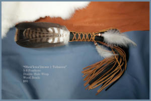 dawn, feather-keeper, smudge feathers, feather bundles, feather work, first nations artist, pass the feather, smudge