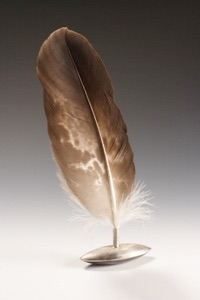 pass the feather, smudge