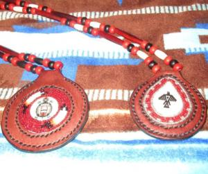 Mitchell6, Mitchell Riley, pass the feather, indigenous artists, first nations art, leatherwork