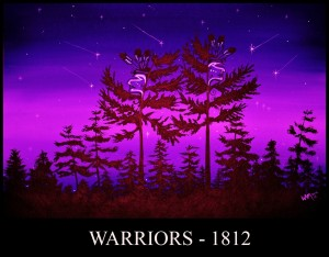 1812-Warriors,William Monague, pass the feather
