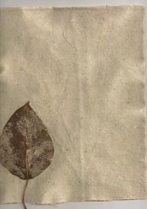 hand made paper, i am dawn