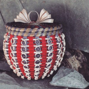 Ann Mitchell, baskets, pass the feather