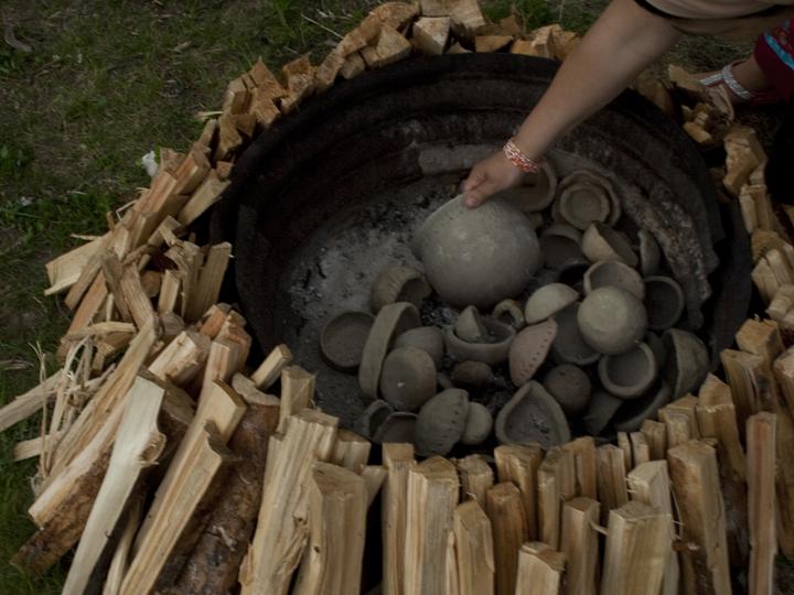 KC Adams, pottery, clay