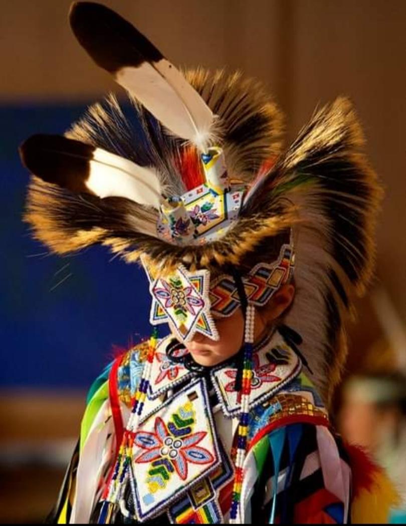 sayokla kindness williams, pass the feather, bead work, Indigenous artist, first nations art, native art