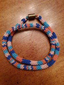 Chantelle Henry, beadwork, beader, craft maker, crafts, dreamcatchers, jewelry maker, jewelry, Indigenous Artist, First Nations, Indigenous Arts Collective of Canada, Pass The Feather