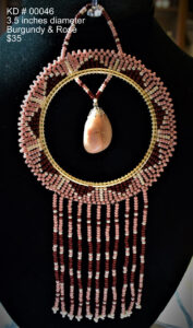 Karole Dumont, beader, beadwork, jewelry, crafts, dreamcatcher, Indigenous Artist, First Nations, Indigenous Arts Collective of Canada, Pass The Feather