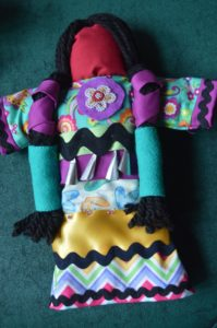 Rose Moses, beadwork, beader, craft maker, crafts, painter, painting, workshop, Ojibwe Jingle Dress Doll, facilitator, Indigenous Artist, First Nations, Indigenous Arts Collective of Canada, Pass The Feather