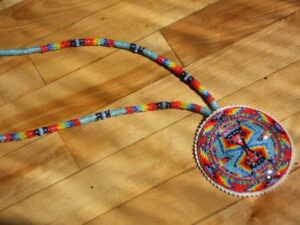 David Charette, beadwork, regalia, sewing, Indigenous Artist, First Nations, Indigenous Arts Collective of Canada, Pass The Feather