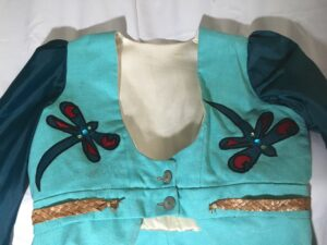 J'net Ayayqwayaksheelth, textiles, art, clothing, hats, beadwork, beader, Indigenous Artist, First Nations, Indigenous Arts Collective of Canada, Pass The Feather
