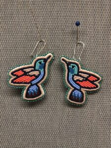 Tracy Desjarlais, beadwork, beader, Indigenous Artist, First Nations, Indigenous Arts Collective of Canada, Pass The Feather