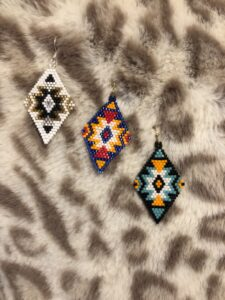 Katie Page, bead work, jewelry, Indigenous Artist, First Nations, Indigenous Arts Collective of Canada, Pass The Feather